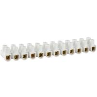 Колодки СВЕТОЗАР 49150-04, зажимные винтовые (КЗВ), максимальный ток 3 А, сечение 4 мм2 [49150-04]