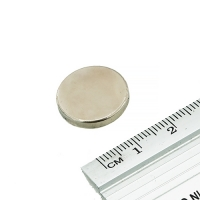 Неодимовый магнит, диск, 18x3