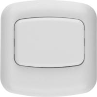 Кнопка СВЕТОЗАР для звонка, цвет белый, 220В, 58301