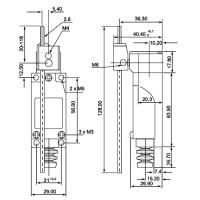 Концевой выключатель ME-8107