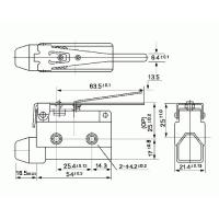 Концевой выключатель CZ7120