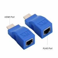 Удлинитель HDMI по витой паре cat-5e/6