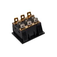 Переключатель клавишный c подсветкой (K116) ON-OFF, 250V AC, 16A, 9 контактов DPST, 25х21х32 мм.