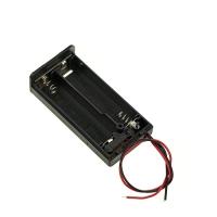 Держатель, отсек для батарей 2хАА с проводами, закрытый с крышкой