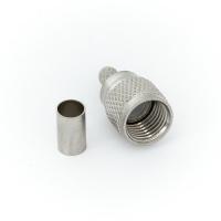 Разъём Mini UHF M (папа) обжим, на кабель RG-58/RG-59 (№83)