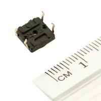 Кнопка тактовая (№4) 7х7мм. 0.05А, 12В (микрик, микропереключатель)