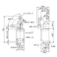 Выключатель концевой WLCA32-41