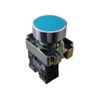 Кнопка XB2-BA61 NO (синяя, без фиксации)