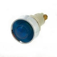 Лампа индикаторная,сигнальная  220V, Ø12 мм. (синяя)