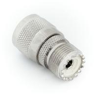 Переходник N-коннектор M (папа) - UHF-F SO-239 (мама) (№03)