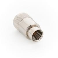 Разъём UHF-M PL-259 (папа) кабель RG-11/RG-213, под пайку (№08)