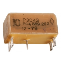 Реле РЭС-43 РС4.569.202
