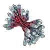 Светодиодный герметичный пиксельный  модуль JR-CKD-Y12-DR, Ø12 мм. 5V, красный