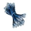 Светодиодный герметичный пиксельный  модуль JR-CKD-Y9-SB, Ø9 мм. 5V, синий