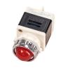 Лампа индикаторная,сигнальная AD11-25/40-1G 220V, D 25мм  красная
