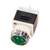 Лампа индикаторная,сигнальная AD11-25/40-1G 220V, D 25мм зеленая