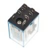 Реле LY2J 12 V + база, 2 группы переключающих контактов, 10A