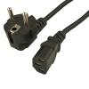 Шнур сетевой (кабель питания) IEC C13, 1.5 м, 250V 10A (PA-17)