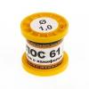 Припой ПОС-61 1.0 мм. 100 гр. в катушке с канифолью