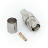 Разъём TNC F (мама) обжим, кабель RG-6U (№69)