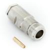 Разъём N-коннектор F (мама) кабель RG-6U, винтовое соединение (№77)