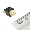 Кнопка тактовая (№15) 6х6мм. 0.05А, 12В (микрик, микропереключатель)