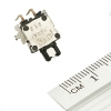 Кнопка тактовая (№27) 10х10мм. 0.05А, 12В (микрик, микропереключатель)