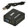 Конвертер VGA+3.5 Jack - HDMI (VGA2HDMI)