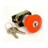 Кнопка XB2-BS142 NC (с замком)