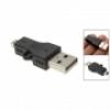 Переходник USB M - miniUSB M (DW35)