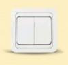 Выключатель двухклавишный (12003-22003)