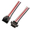 Коннектор для светодиодной ленты RGB (№10) 4 контакта, с кабелем, male/female