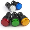 Лампа индикаторная 220V, D 22мм (4 цвета)