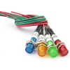 Лампа индикаторная 24V, D 6мм, с проводкой (4 цвета)