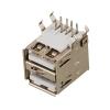 Разъём компьютерный 2xUSB, для установки на плату (K4026)