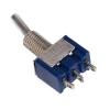 Тумблер (Т-22) ON-ON, 250V AC, 3A, 3 контакта, SPDT 12х10х7 мм.